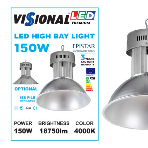 LED HIGH BAY 150W / 4000K